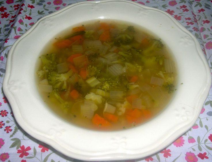 spoa de verduras para enfermos