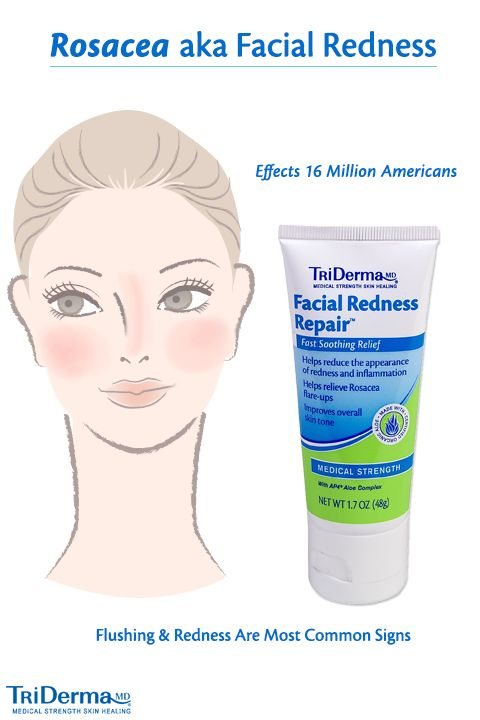 Rosacea, otherwise known as Facial Redness, is a common skin condition causing flushing of the face. Did you know more than 16 million Americans suffer, and most don't know that they do? Facial Redness Repair™ helps to relieve redness symptoms for overall healthy appearance.