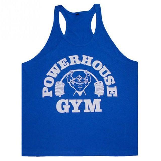 Mens Tank Tops Bodybuilding Equipment Fitness Brand Singlets Men's Tank Shirts Clothes