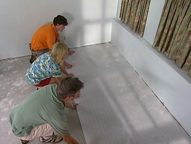 How to Install Laminate Flooring : How-To : DIY Network