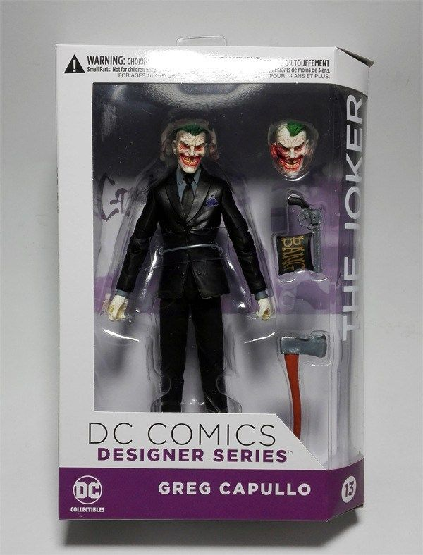 DC COMICS Designer Series DC Collectibles Batman The Joker by Greg Capullo PVC Action Figure Collectible Model Toy 16cm KT3142 //Price: $29.99 & Always FREE Shipping World Wide//     #Greate Gift Idea     DESCRIPTION The Name: Commodity material:PVC Condition:100% NEW Size: Approx 16cm Package:packed in  Box      https://www.shopshopship.com/product/dc-comics-designer-series-dc-collectibles-batman-the-joker-by-greg-capullo-pvc-action-figure-collectible-model-toy-16cm-kt3142