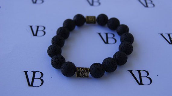 I just found them on Etsy. I love the black volcanic rock look with the gold tones.  Black is my favorite color afterall! I love it