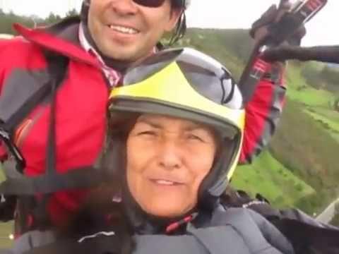 (86) PARAPENTE EN SANTA ROSA DE VITERBO COLOMBIA 2016 - YouTube