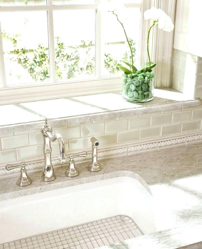 Window Sill Tile Sill Slate Grey Bathroom Tiles Tile Transitional With White Window Trim Kitchen Window Sill Bathroom Window Sill Ideas Kitchen Window Shelves