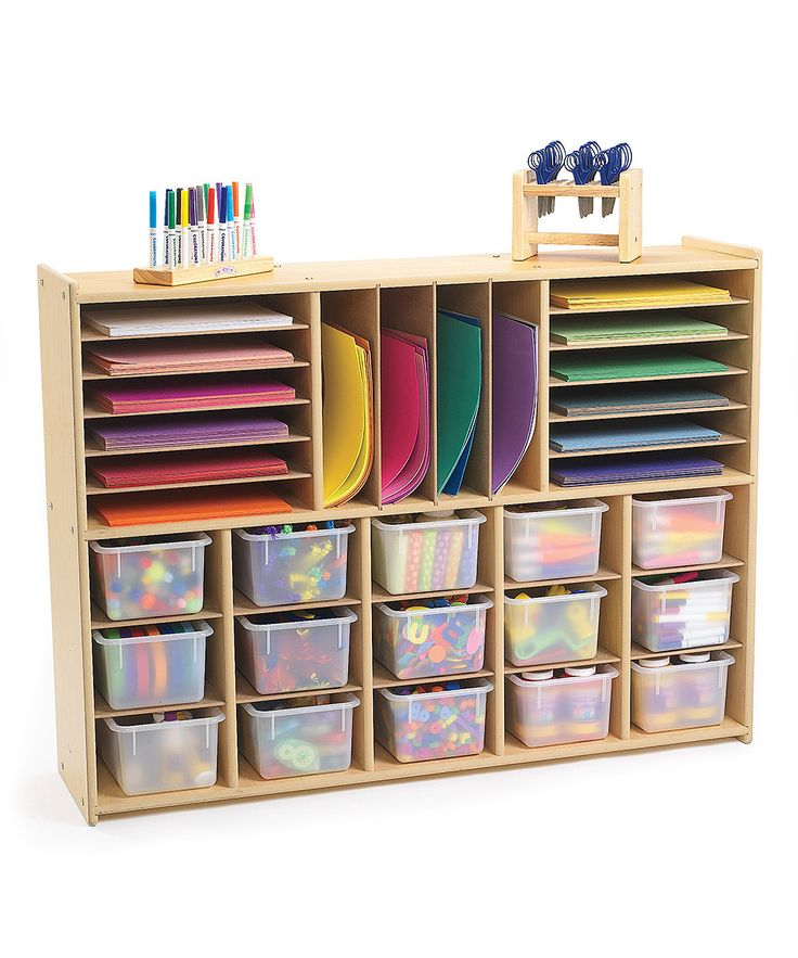 31-Cubby Multi-Section Storage Unit | zulily