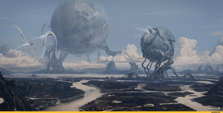 This picture inspired the atmosphere generators on Geryon in part three of The Sepherene Chronicles.