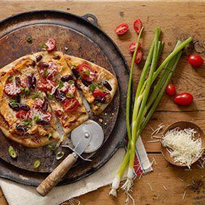 Mediterranean Flatbread Recipe : Target Recipes