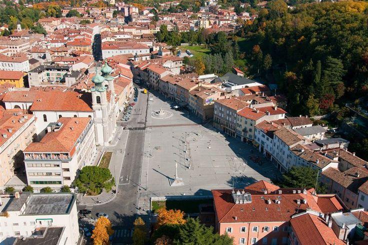 Piazza Vittoria a Gorizia