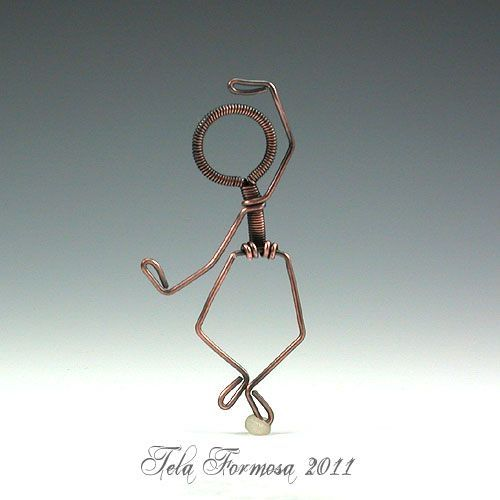 How to make wire people!  #Wire #Jewelry #Tutorials