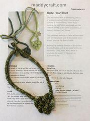 Ravelry: Celtic Heart Knot #910 pattern by Maddy Cranley