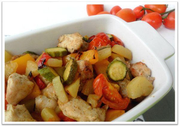 Запеченное куриное филе с овощами.РЕЦЕПТЫ ТЕРМОМИКС | Thermomixmania