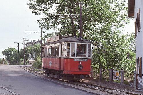 Trams de Gmunden (Autriche)