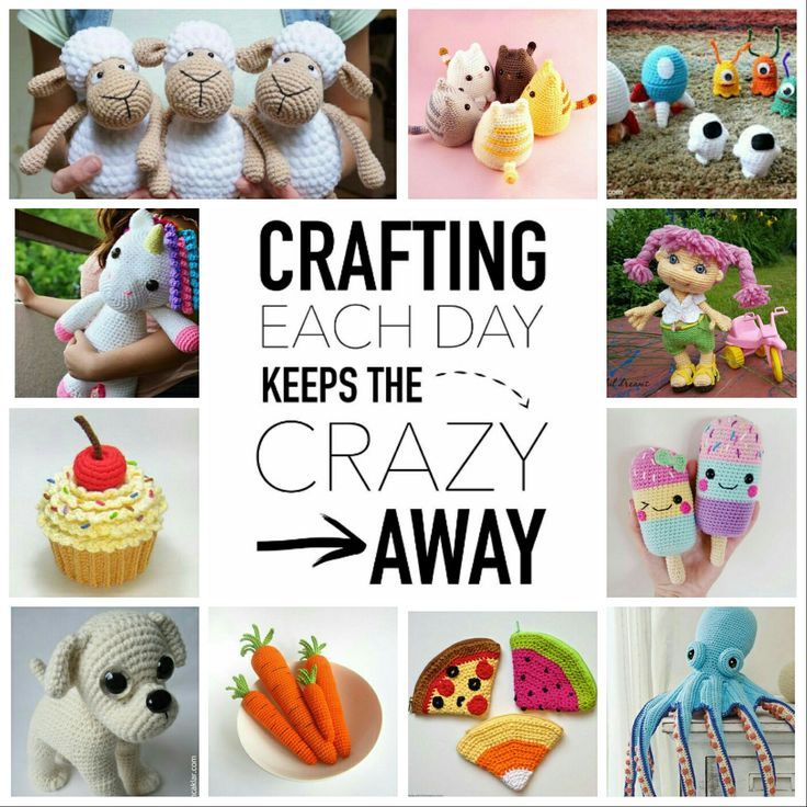 Crafting each day keeps the crazy away