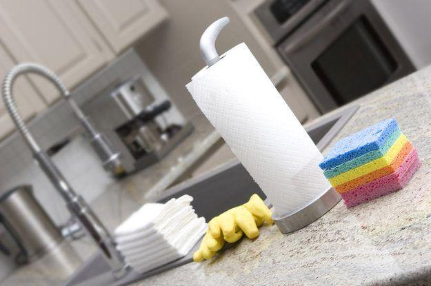 Отмываем кухню от жира за 5 минут! / Домоседы