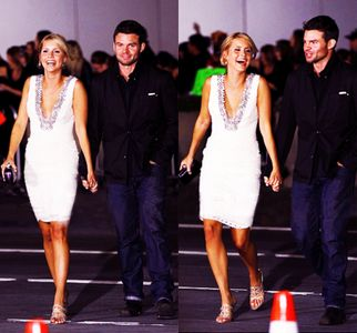 Claire Holt and Daniel Gillies