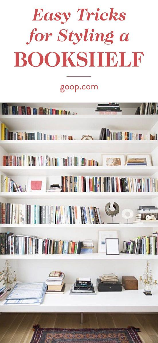 We asked childhood friend and Juniper Books founder, Thatcher Wine, for a few tips on putting together a beautiful home library. via @goop