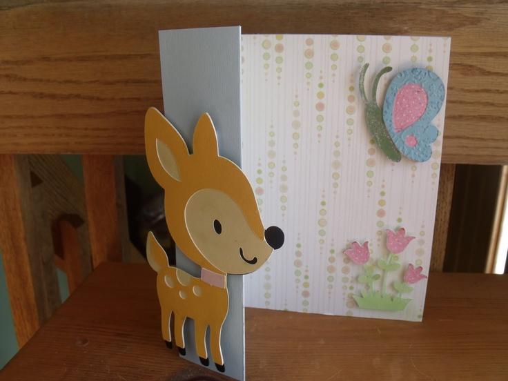 LauraLeesDream: #Create A Critter Card- What A Cute #Cricut Cartridge