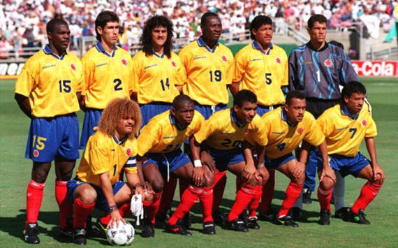 Colombia USA 94