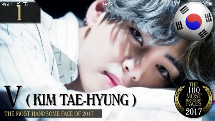 He looks like a living doll. He deserved this (damn handsome)  The most 100 handsome faces of 2017