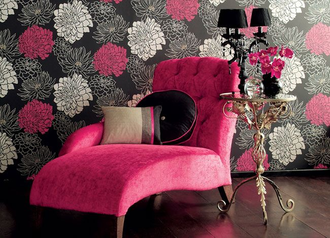 Pink and Black. Extravagance Divine.