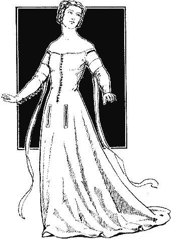 Historie odívání - 14.století, část 2.