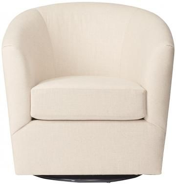 Custom Colin Upholstered Swivel Chair - Swivel Chairs - Upholstered Chairs…