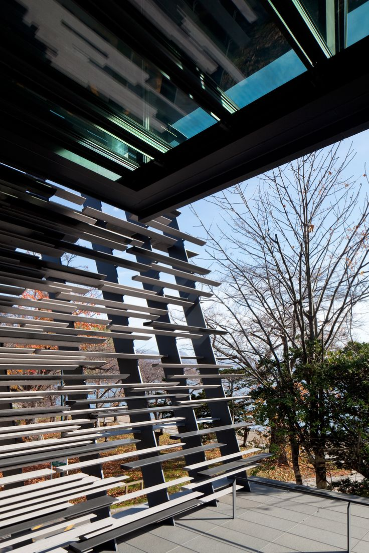 Lake house by kengo kuma and associates, Japan