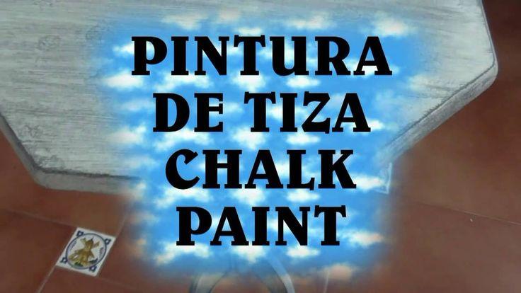 Como Hacer Pintura De Tiza, Chalk Paint Casera - HOW TO MAKE CHALK PAINT