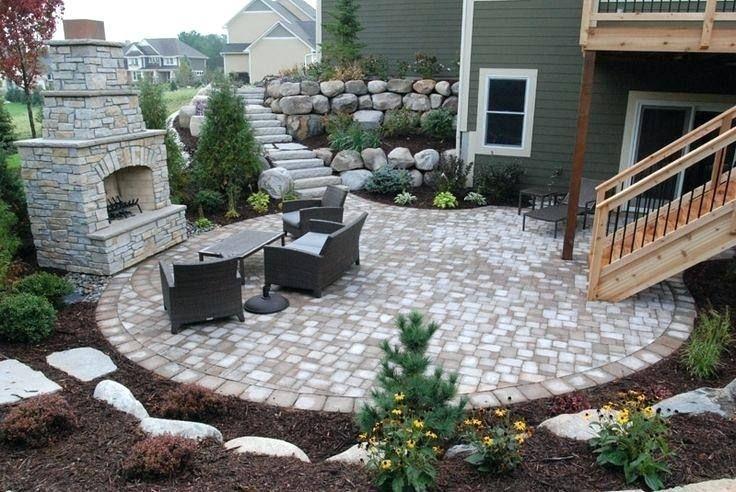 Back Yard Design Ideas For Walk Out Basement Backyard Patio