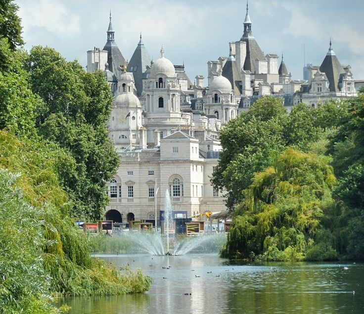 View from St James's Park,London