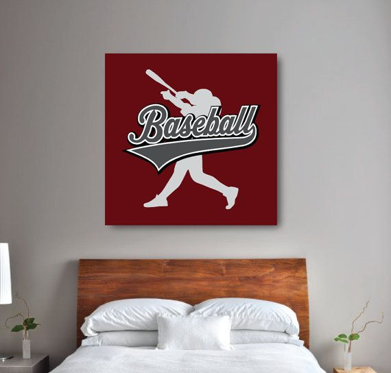 Best 25+ Baseball Bedroom Decor Ideas On Pinterest