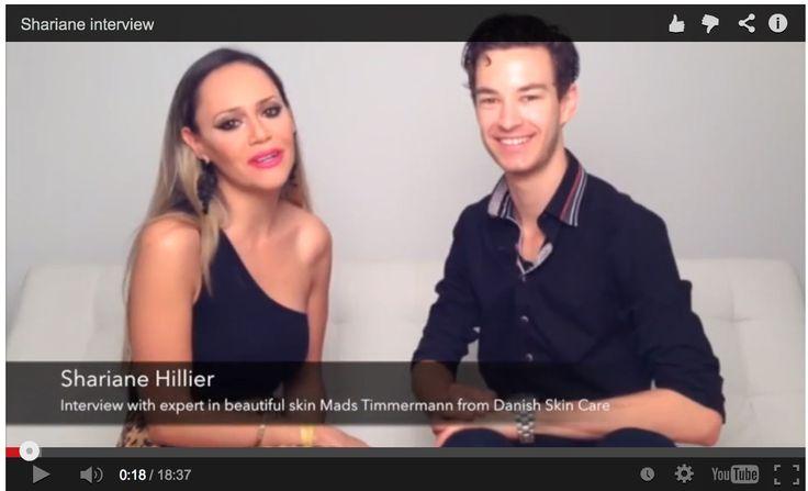 25. september 2015 - den skønne videoblogger, Shari, havde inviteret Danish Skin Cares ekspert i smuk hud, Mads Timmermann, forbi til en snak om hudpleje og skønhed... Da han var i New York sidst :-)