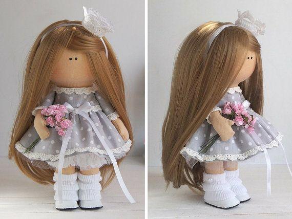 Princess doll Handmade doll Tilda doll por AnnKirillartPlace
