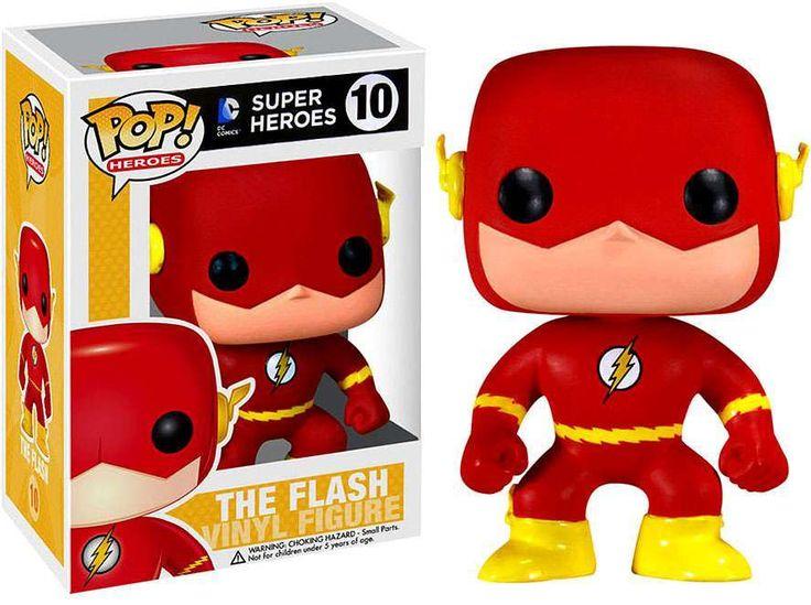 DC Universe Funko POP! Heroes The Flash Vinyl Figure #10