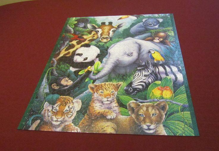 90 best Puzzles images on Pinterest | Afrikanische tiere, Kalender ...