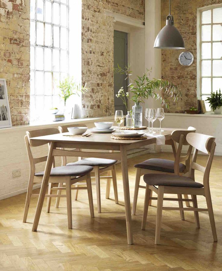 Gather Family And Friends For Delicious Dinners Around This Heart Of House Afina Oak Veneer Dining