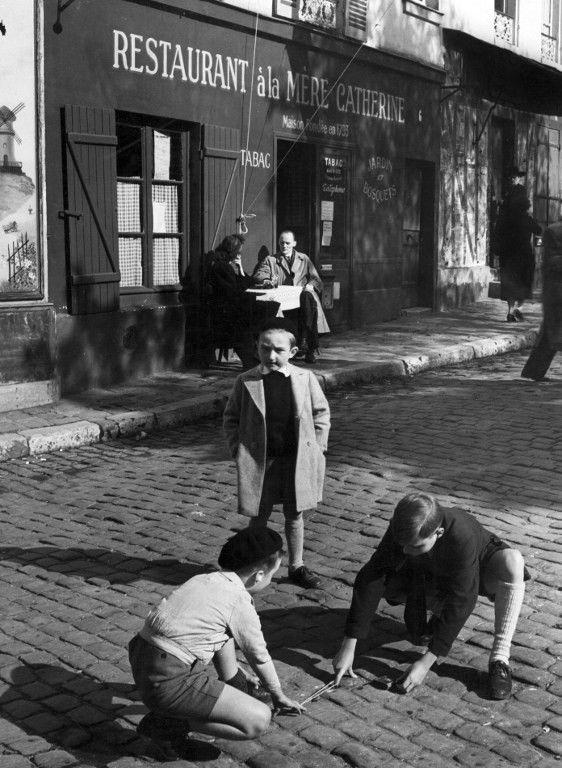 Place du Tertre dans les années 50 © AFP