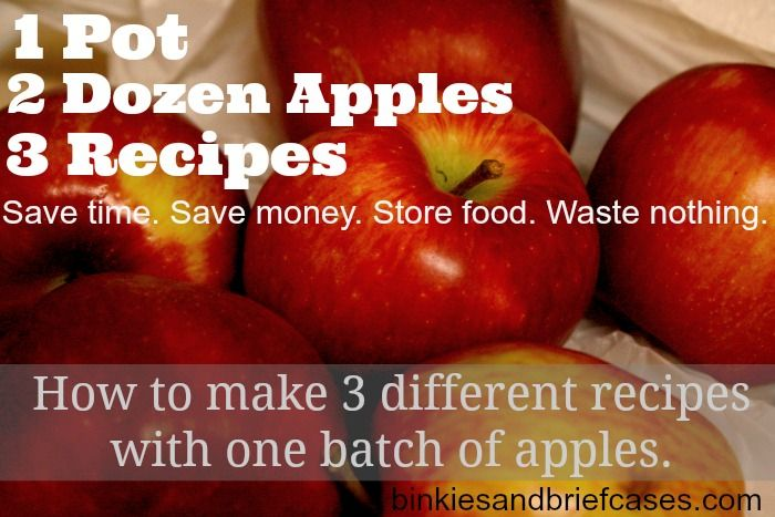 Apple Recipes for Fall: Get One Batch of Apples to Give You Three Recipes