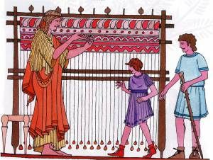 Τα κρητικά ενδύματα κατασκευάζονταν από μαλλί, λινάρι και κατεργασμένο δέρμα. Το μαλλί ήταν το συνηθέστερο υλικό για την κατασκευή της ενδυμασίας, υπήρξε μάλιστα από τα βασικά εξαγώγιμα προϊόντα της Κρήτης, ενώ η υφαντουργία ήταν από τις κύριες βιοτεχνίες της μινωικής εποχής