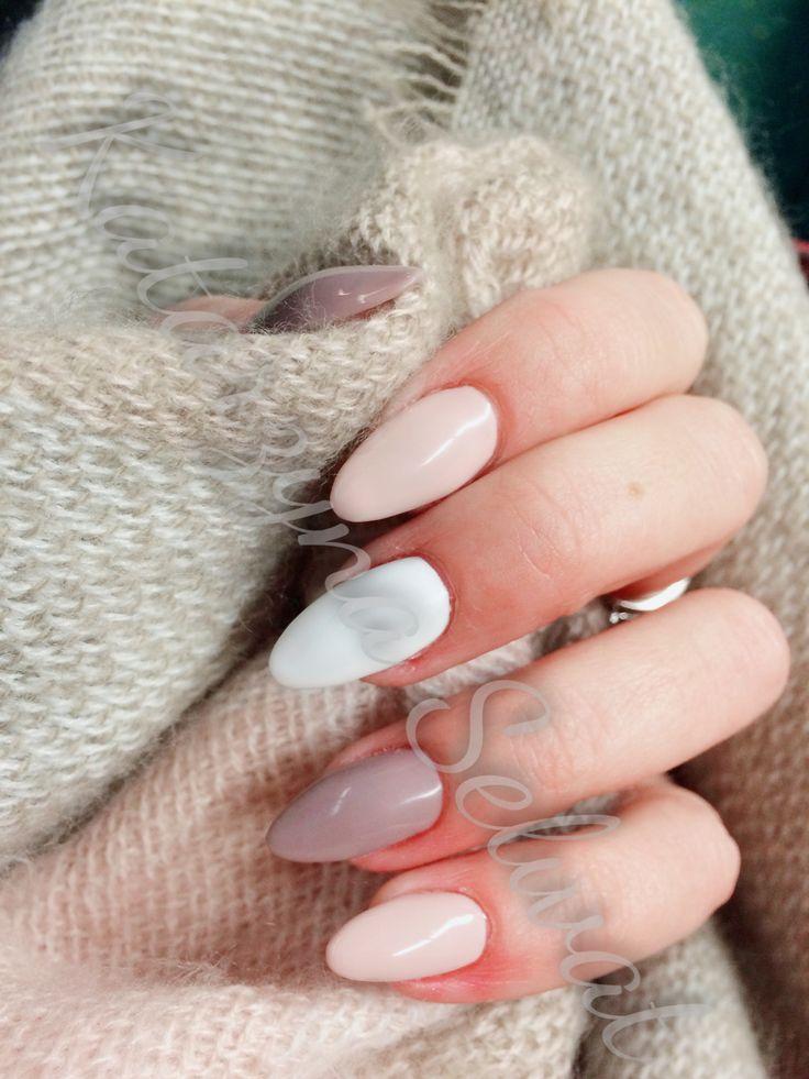 #nails #semilac #autumn