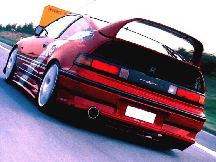 Honda CRX - Racing tail! #CRX #Honda #Rvinyl =========================== http://www.rvinyl.com/Honda-Accessories.html