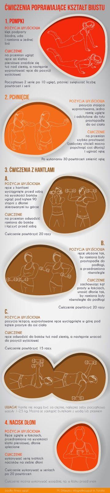Soul & Body: Ćwiczenia poprawiające wygląd biustu..   Ten post...