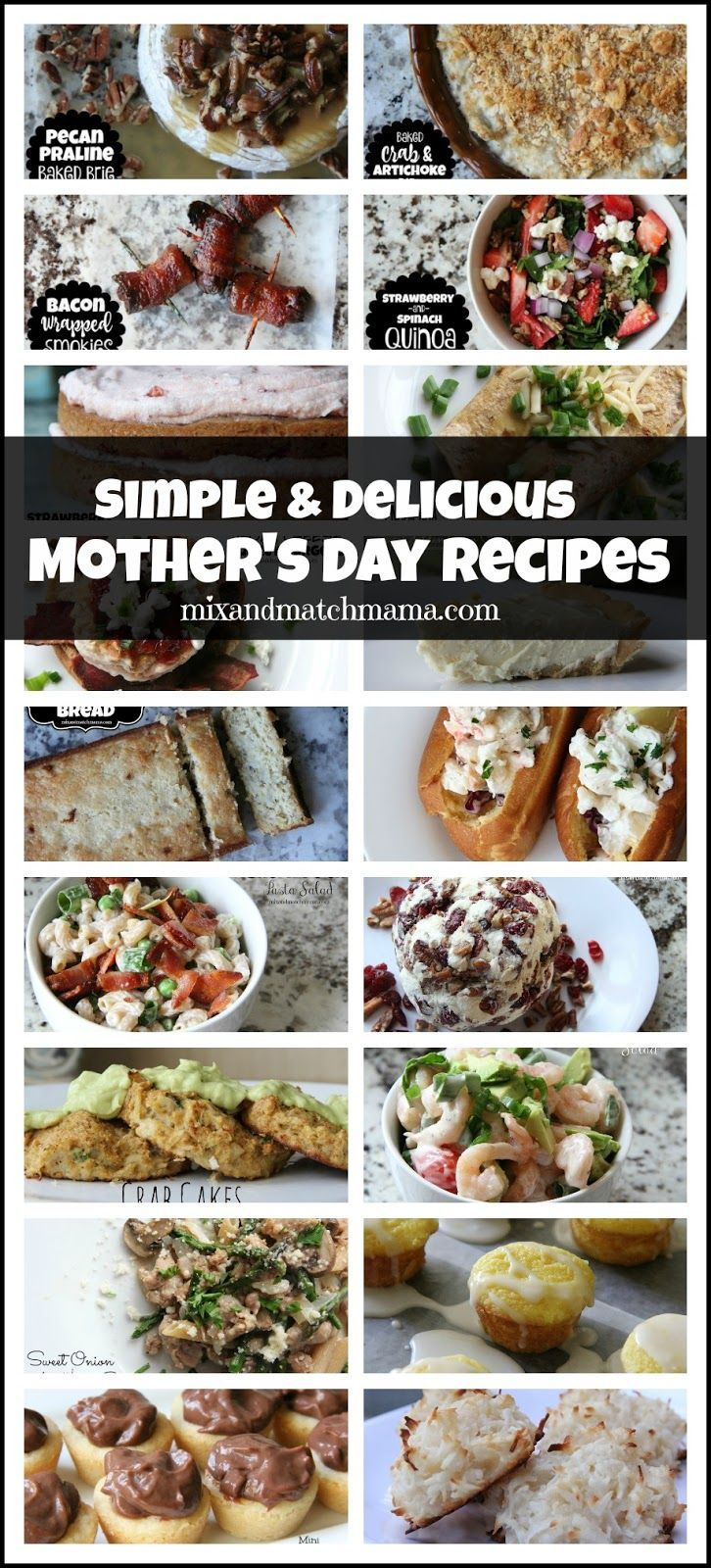 Simple & Delicious Mother's Day Recipes