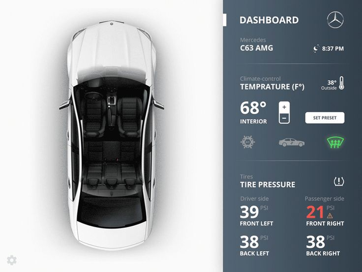 Vehicle App UI | Toptal                                                                                                                                                                                 More
