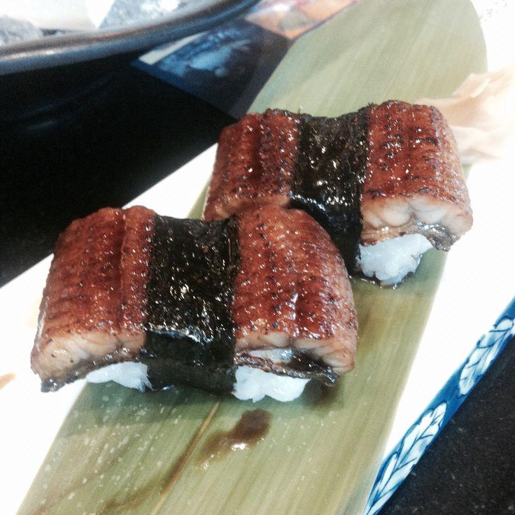 Eels sushi @ sushi hiro, Rama9, Bangkok, Thailand