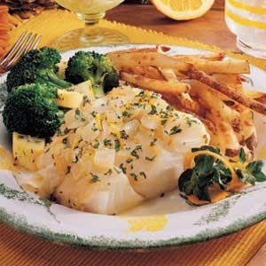 Citrus Cod Recipe | Taste of Home Recipes
