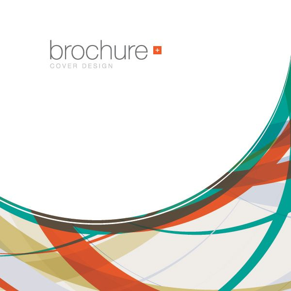 Brochure Cover Vector Graphic - DryIcons