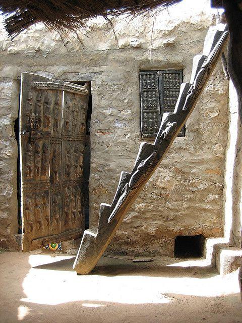 Dogon ladder | Flickr - Photo Sharing!