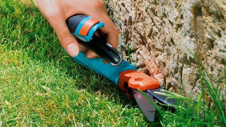 No compromise. Ergonomic and leightweight design for the perfect lawn edges