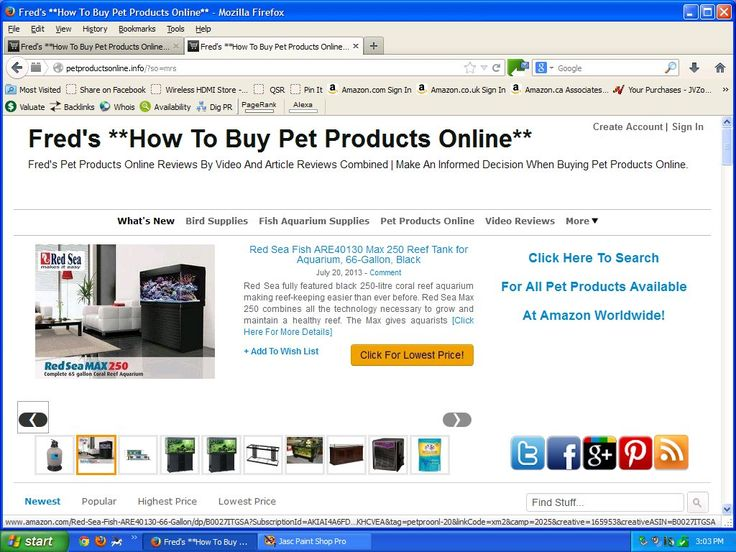 I Like Fred's **How To Buy Pet Products Online** at http://PetProductsOnline.info/